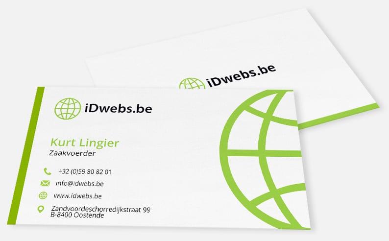 Digitaal visitekaartje - iDwebs.be