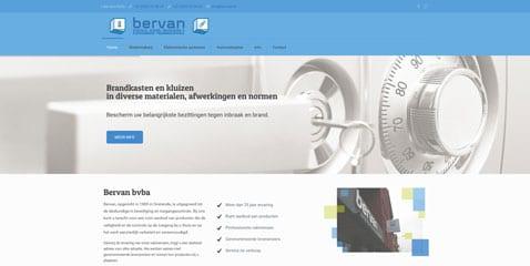 Nieuwe website Bervan